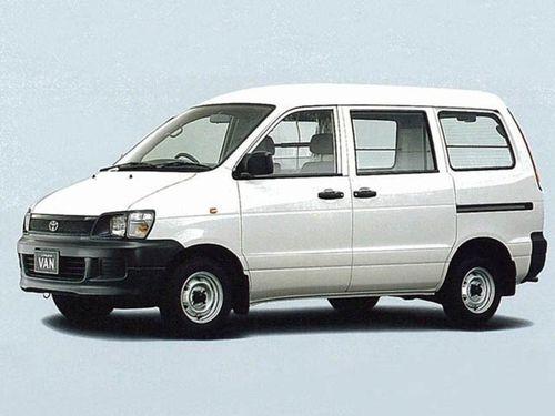 Фото автомобиля Toyota Lite Ace 5 поколение, ракурс: 45 цвет: белый