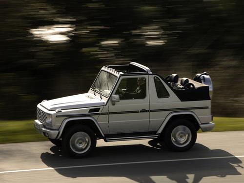 Фото автомобиля Mercedes-Benz G-Класс W463, ракурс: 45
