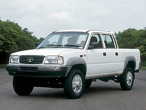 Фото автомобиля Tata Telcoline 3 поколение, ракурс: 45 цвет: белый