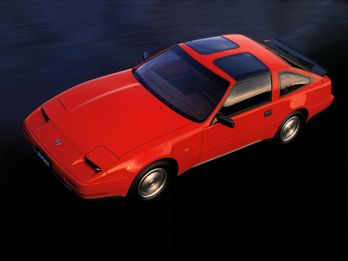 Фото автомобиля Nissan 300ZX Z31 [рестайлинг], ракурс: 45