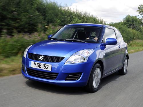 Фото автомобиля Suzuki Swift 4 поколение, ракурс: 45 цвет: синий