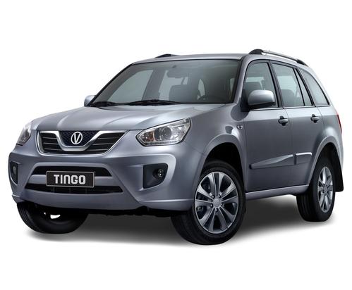 Фото автомобиля Vortex Tingo 1 поколение [рестайлинг], ракурс: 45 цвет: серебряный