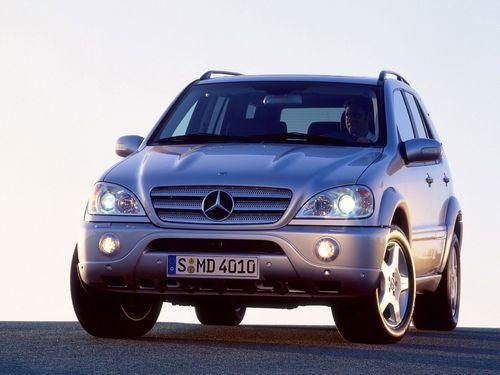 Фото автомобиля Mercedes-Benz M-Класс W163 [рестайлинг], ракурс: 45
