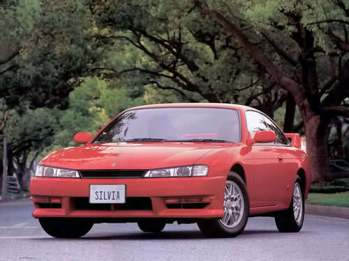 Фото автомобиля Nissan Silvia S14a [рестайлинг], ракурс: 45