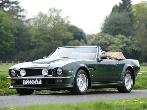 Фото автомобиля Aston Martin Vantage 1 поколение, ракурс: 45
