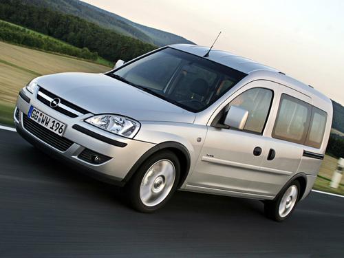 Фото автомобиля Opel Combo C [рестайлинг], ракурс: 45