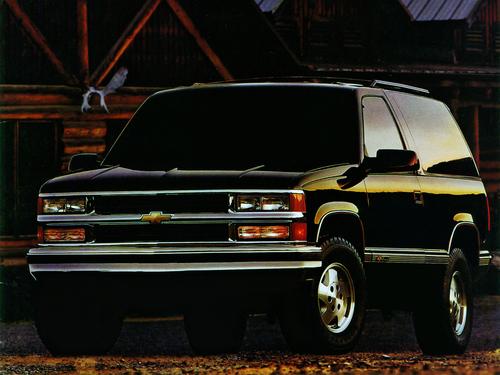 Фото автомобиля Chevrolet Tahoe GMT400, ракурс: 45