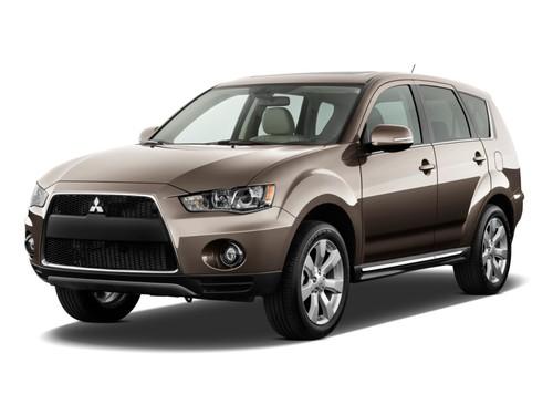 Фото автомобиля Mitsubishi Outlander XL [рестайлинг], ракурс: 45 цвет: бронзовый