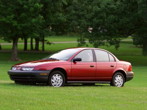 Фото автомобиля Saturn S-Series 2 поколение, ракурс: 45
