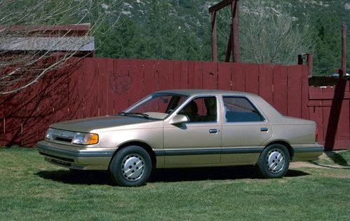Фото автомобиля Mercury Topaz 1 поколение [рестайлинг], ракурс: 315