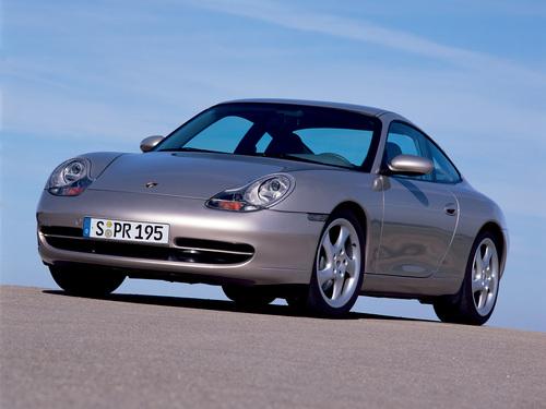 Фото автомобиля Porsche 911 996, ракурс: 45