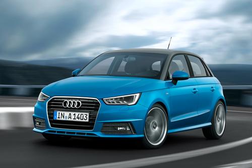 Фото автомобиля Audi A1 8X [рестайлинг], ракурс: 45