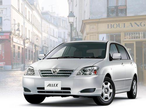Фото автомобиля Toyota Allex E120 [рестайлинг], ракурс: 45