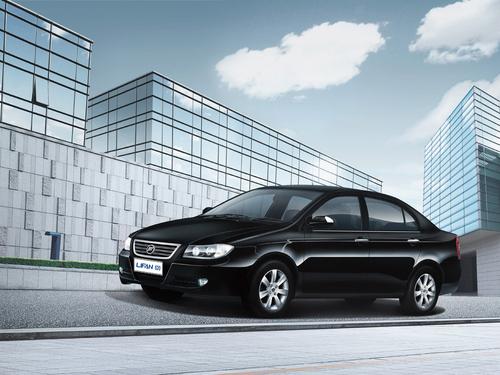 Фото автомобиля Lifan Solano 1 поколение, ракурс: 45 цвет: черный