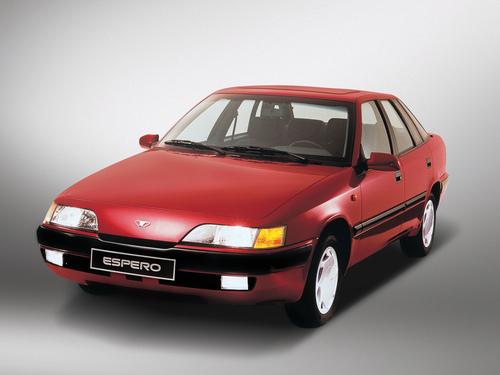 Фото автомобиля Daewoo Espero KLEJ [рестайлинг], ракурс: 45 цвет: красный