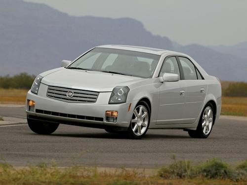 Фото автомобиля Cadillac CTS 1 поколение, ракурс: 45