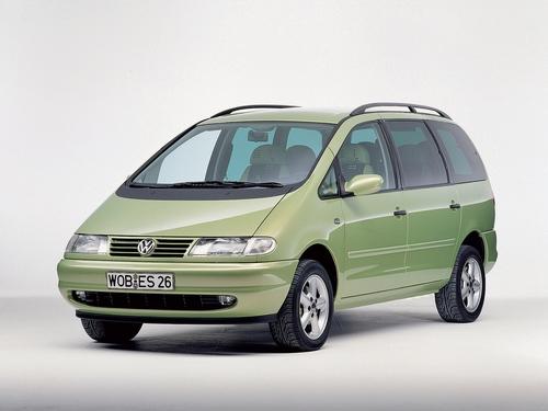 Фото автомобиля Volkswagen Sharan 1 поколение, ракурс: 45