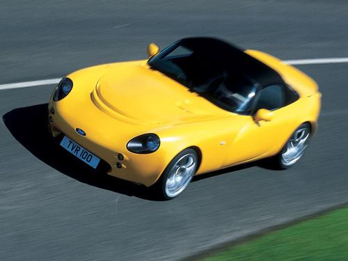 Фото автомобиля TVR Tamora 1 поколение, ракурс: 45