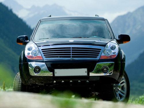 Фото автомобиля Derways Aurora 1 поколение [рестайлинг],