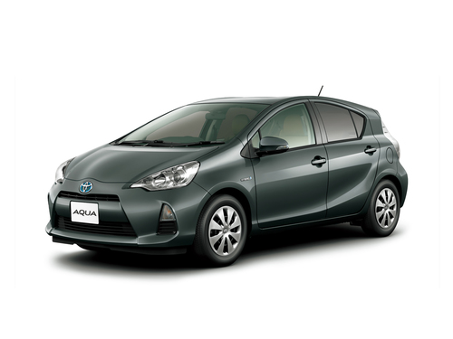 Фото автомобиля Toyota Aqua 1 поколение, ракурс: 45