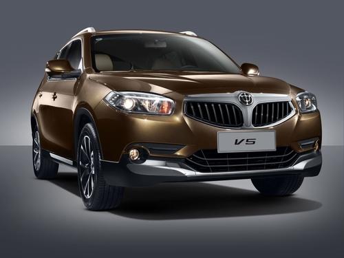 Фото автомобиля Brilliance V5 1 поколение [рестайлинг], ракурс: 315 - рендер цвет: бронзовый