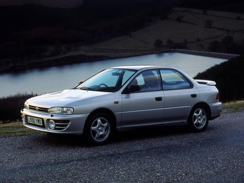 Фото автомобиля Subaru Impreza 1 поколение [рестайлинг], ракурс: 45