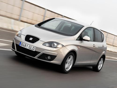 Фото автомобиля SEAT Altea 1 поколение [рестайлинг], ракурс: 45