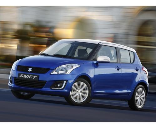 Фото автомобиля Suzuki Swift 4 поколение [рестайлинг], ракурс: 45 цвет: синий