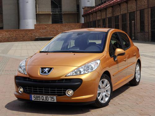 Фото автомобиля Peugeot 207 1 поколение, ракурс: 45 цвет: бронзовый