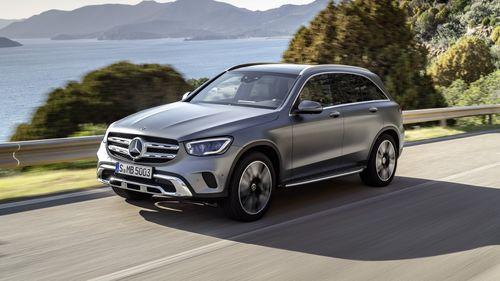 Фото автомобиля Mercedes-Benz GLC-Класс X253/C253 [рестайлинг], ракурс: 45 цвет: серый