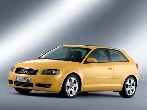 Фото автомобиля Audi A3 8P, ракурс: 45