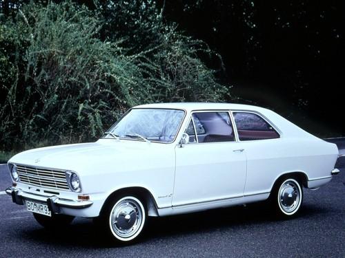Фото автомобиля Opel Kadett B, ракурс: 45 цвет: белый