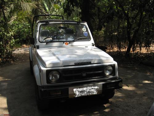 Фото автомобиля Maruti Gypsy 1 поколение, ракурс: 315
