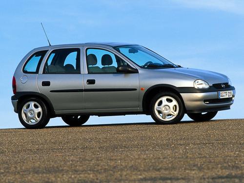 Фото автомобиля Opel Corsa B [рестайлинг], ракурс: 270