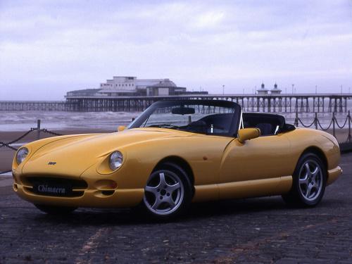 Фото автомобиля TVR Chimaera 1 поколение, ракурс: 45