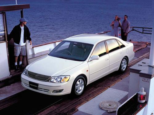 Фото автомобиля Toyota Pronard 1 поколение, ракурс: 45