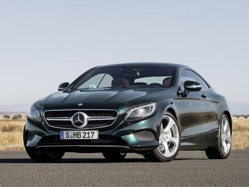Фото автомобиля Mercedes-Benz S-Класс W222/C217/A217, ракурс: 45 цвет: зеленый