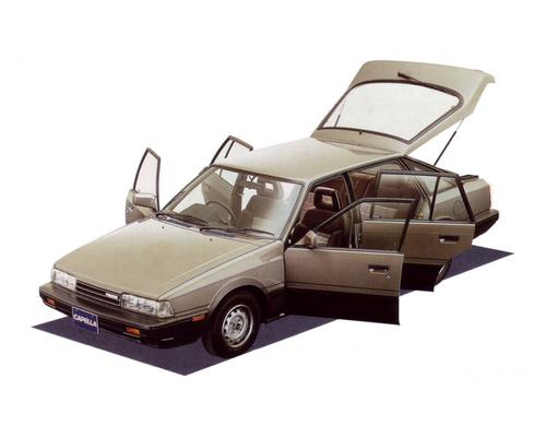 Фото автомобиля Mazda Capella 4 поколение, ракурс: 45