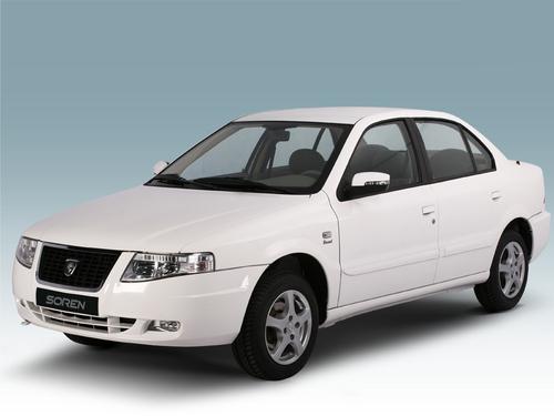 Фото автомобиля Iran Khodro Soren 1 поколение, ракурс: 45