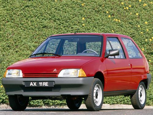 Фото автомобиля Citroen AX 1 поколение, ракурс: 45