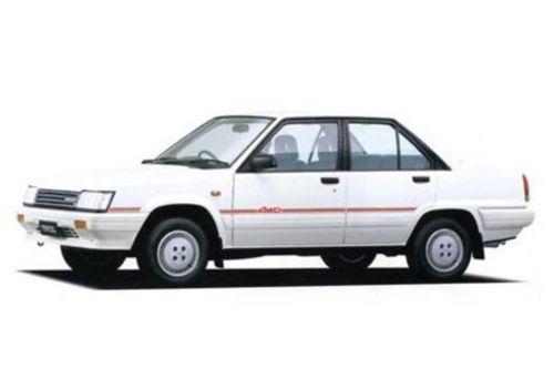 Фото автомобиля Toyota Tercel L20, ракурс: 45 - рендер цвет: белый