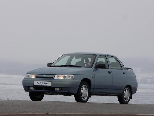 Фото автомобиля ВАЗ (Lada) 2110 1 поколение, ракурс: 45 цвет: серый