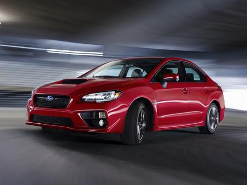 Фото автомобиля Subaru Impreza 4 поколение, ракурс: 45 цвет: красный