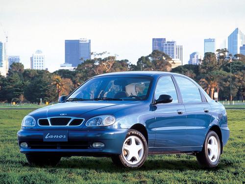 Фото автомобиля Daewoo Lanos T100, ракурс: 45