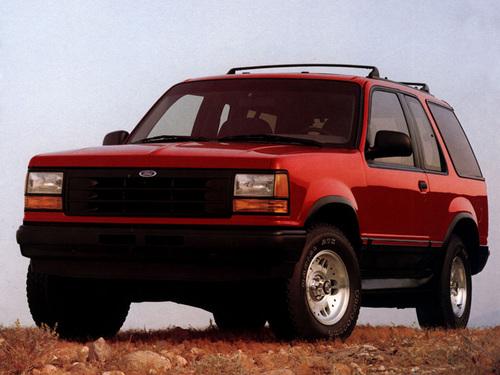 Фото автомобиля Ford Explorer 1 поколение, ракурс: 45
