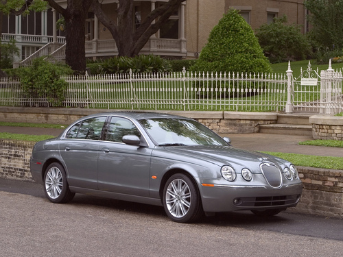 Фото автомобиля Jaguar S-Type 1 поколение [рестайлинг], ракурс: 45