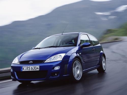 Фото автомобиля Ford Focus 1 поколение [рестайлинг], ракурс: 45 цвет: синий