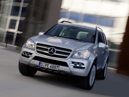 Фото автомобиля Mercedes-Benz GL-Класс X164 [рестайлинг], ракурс: 45 цвет: серебряный