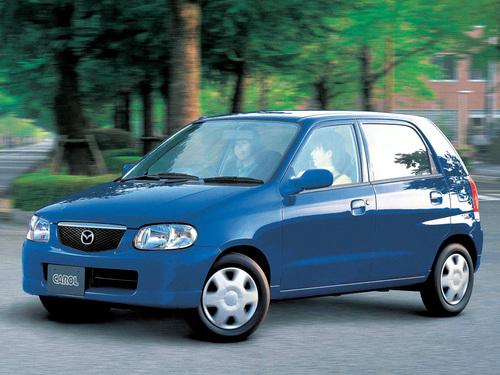 Фото автомобиля Mazda Carol 3 поколение, ракурс: 45