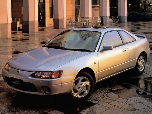 Фото автомобиля Toyota Sprinter Trueno AE110/AE111, ракурс: 45